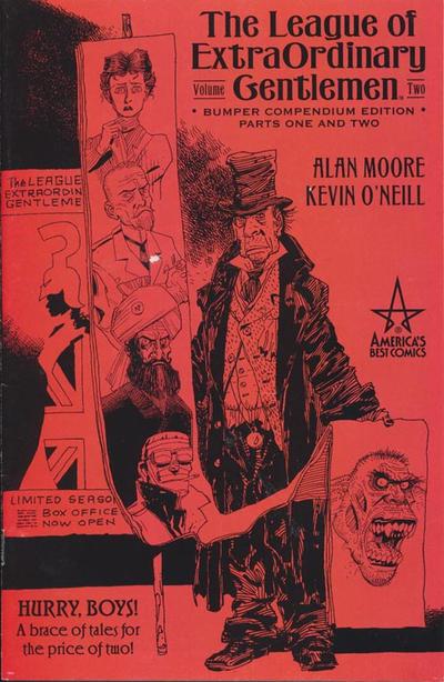 Cover for The League of Extraordinary Gentlemen Volume 2 Bumper Compendium (DC, 2002 series) #1