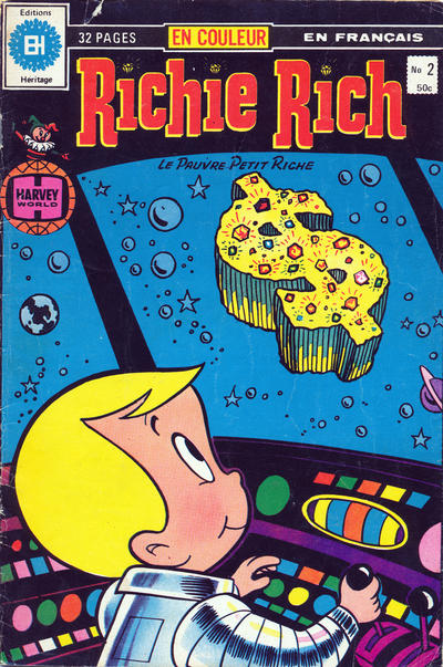 Cover for Richie Rich (Editions Héritage, 1978 series) #2