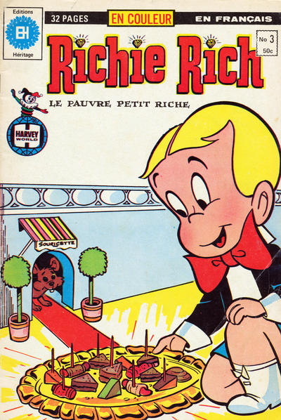 Cover for Richie Rich (Editions Héritage, 1978 series) #3