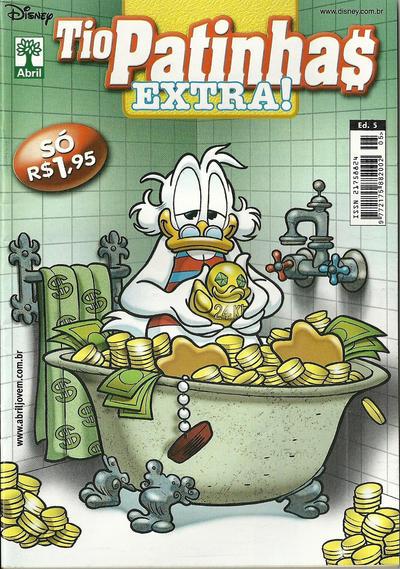 Cover for Tio Patinhas Extra (Editora Abril, 2008 series) #5
