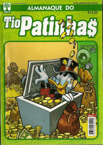 Cover for Almanaque do Tio Patinhas (Editora Abril, 2010 series) #1