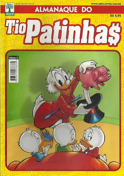 Cover for Almanaque do Tio Patinhas (Editora Abril, 2010 series) #2