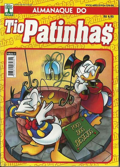 Cover for Almanaque do Tio Patinhas (Editora Abril, 2010 series) #5