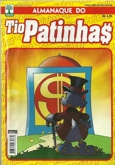 Cover for Almanaque do Tio Patinhas (Editora Abril, 2010 series) #7