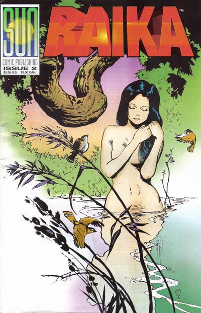 Cover for Raika (Sun Comic Publishing, 1992 series) #2