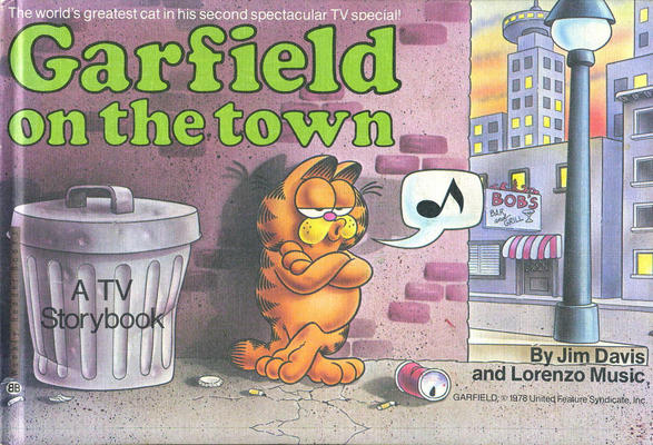 Cover for Garfield On the Town (Random House, 1983 series) #[nn] [Weekly Reader Books edition]