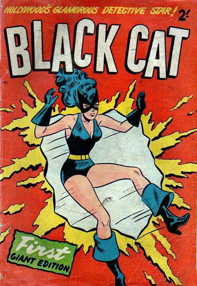 Cover for Black Cat (Magazine Management, 1960 ? series)