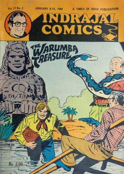 Cover for Indrajal Comics (Bennet, Coleman & Co., 1964 series) #v21#2 [497]