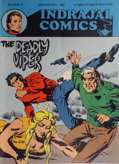 Cover for Indrajal Comics (Bennet, Coleman & Co., 1964 series) #v24#4 [656]