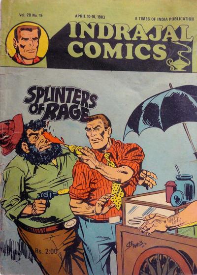 Cover for Indrajal Comics (Bennet, Coleman & Co., 1964 series) #v20#15 [458]