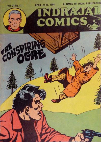 Cover for Indrajal Comics (Bennet, Coleman & Co., 1964 series) #v21#17 [512]