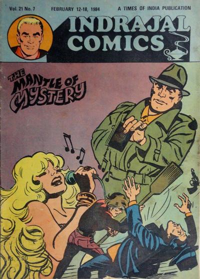 Cover for Indrajal Comics (Bennet, Coleman & Co., 1964 series) #v21#7 [502]