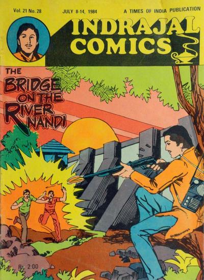 Cover for Indrajal Comics (Bennet, Coleman & Co., 1964 series) #v21#28 [523]