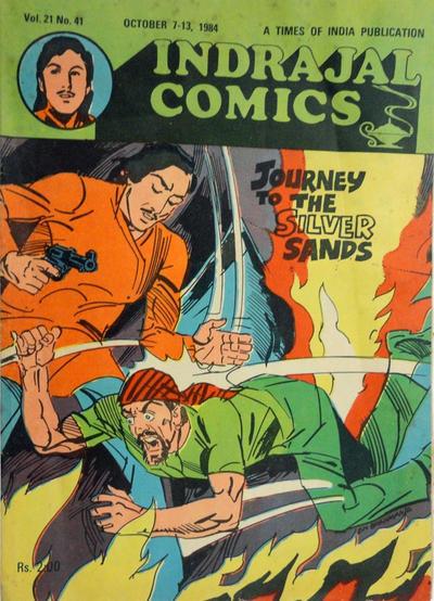 Cover for Indrajal Comics (Bennet, Coleman & Co., 1964 series) #v21#41 [536]