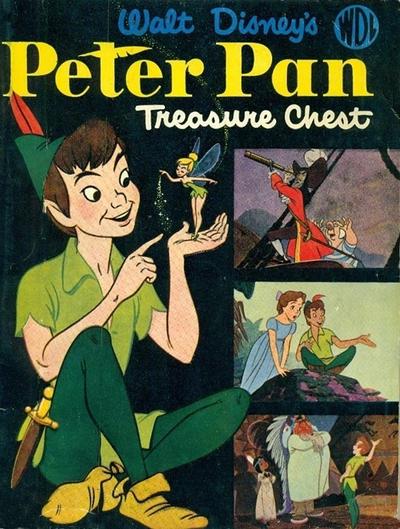 Cover for Walt Disney's Peter Pan Treasure Chest (World Distributors, 1953 series)