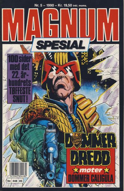 Cover for Magnum Spesial (Bladkompaniet, 1988 series) #5/1990