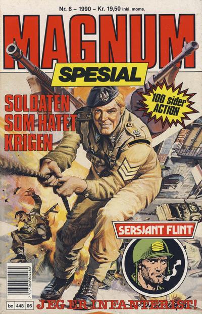 Cover for Magnum Spesial (Bladkompaniet, 1988 series) #6/1990