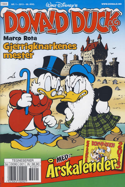 Cover for Donald Duck & Co (Hjemmet / Egmont, 1948 series) #1/2013
