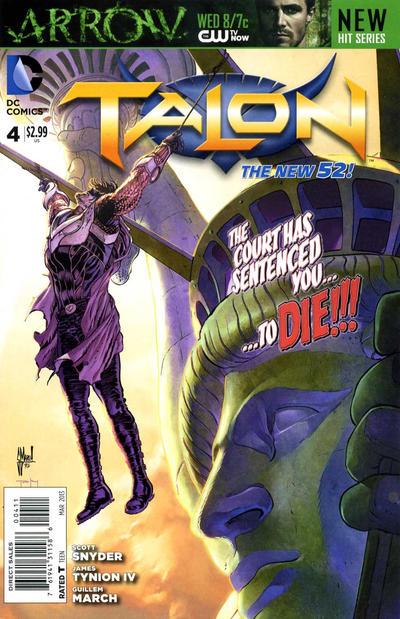 Cover for Talon (DC, 2012 series) #4