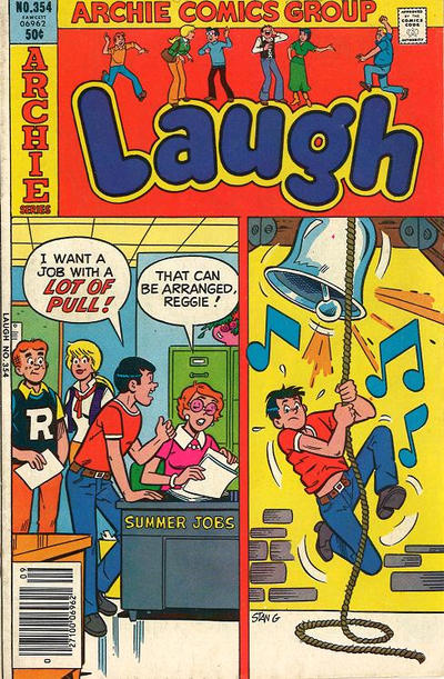 Cover for Laugh Comics (Archie, 1946 series) #354