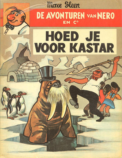 Cover for Nero (Standaard Uitgeverij, 1965 series) #22 - Hoed je voor Kastar