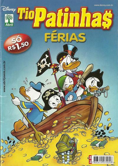 Cover for Tio Patinhas Férias (Editora Abril, 2008 series) #4