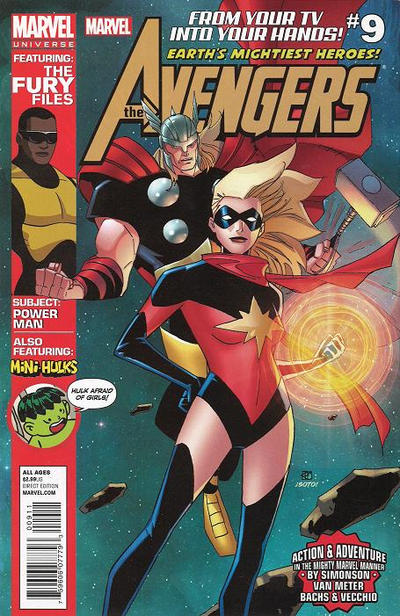 Cover for Marvel Universe Avengers Earth's Mightiest Heroes (Marvel, 2012 series) #9