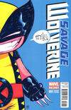 Cover Thumbnail for Savage Wolverine (2013 series) #1 [Marvel Babies Variant Cover by Skottie Young]