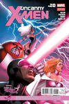 Cover for Uncanny X-Men (Marvel, 2012 series) #20 [Susan G. Komen Breast Cancer Awareness Variant by David Marquez]
