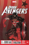 Cover for Dark Avengers (Marvel, 2012 series) #185