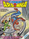 Cover for A Teia do Aranha (Editora Abril, 1989 series) #1