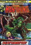 Cover for Man-Thing (Marvel, 1974 series) #9 [British]
