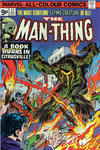 Cover for Man-Thing (Marvel, 1974 series) #17 [British]