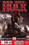 Cover for Red She-Hulk (Marvel, 2012 series) #62