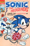 Cover for Sonic the Hedgehog (Archie, 1993 series) #8 [Direct Edition]