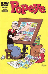 Cover Thumbnail for Popeye (IDW, 2012 series) #5