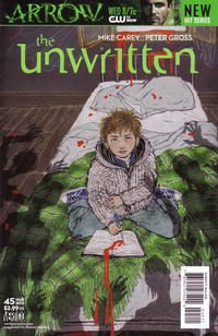 Cover for The Unwritten (DC, 2009 series) #45
