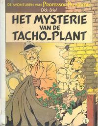 Cover Thumbnail for De avonturen van Professor Palmboom (Oberon, 1981 series) #1 - Het mysterie van de Tacho-plant