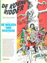 Cover Thumbnail for De koene ridder (Casterman, 1970 series) #2 - De wolven van Rastigne
