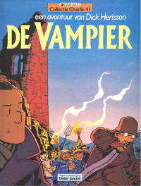 Cover Thumbnail for Collectie Charlie (Dargaud Benelux, 1984 series) #41 - Dick Herisson 4: De vampier