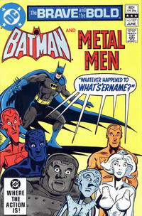 Cover Thumbnail for The Brave and the Bold (DC, 1955 series) #187 [Direct Sales]