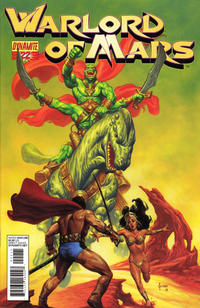 Cover Thumbnail for Warlord of Mars (Dynamite Entertainment, 2010 series) #22 [Joe Jusko Cover]