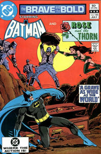 Cover Thumbnail for The Brave and the Bold (DC, 1955 series) #188 [Direct]