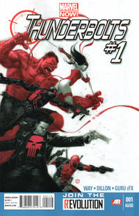 Cover Thumbnail for Thunderbolts (Marvel, 2013 series) #1 [2nd Printing]