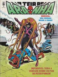 Cover Thumbnail for A Teia do Aranha (Editora Abril, 1989 series) #4