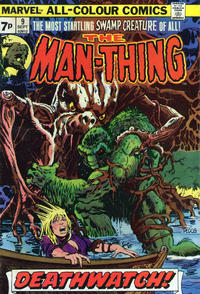 Cover Thumbnail for Man-Thing (Marvel, 1974 series) #9 [British]