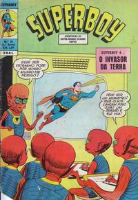 Cover for Superboy (Editora Brasil-América [EBAL], 1966 series) #84