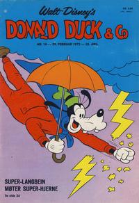 Cover Thumbnail for Donald Duck & Co (Hjemmet / Egmont, 1948 series) #10/1972