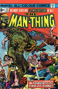 Cover Thumbnail for Man-Thing (Marvel, 1974 series) #14 [British]