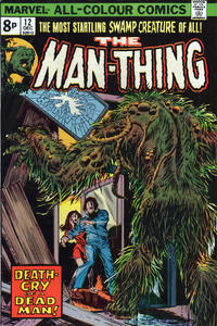 Cover Thumbnail for Man-Thing (Marvel, 1974 series) #12 [British]